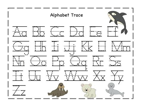 tracing letters and numbers printable free printable 360