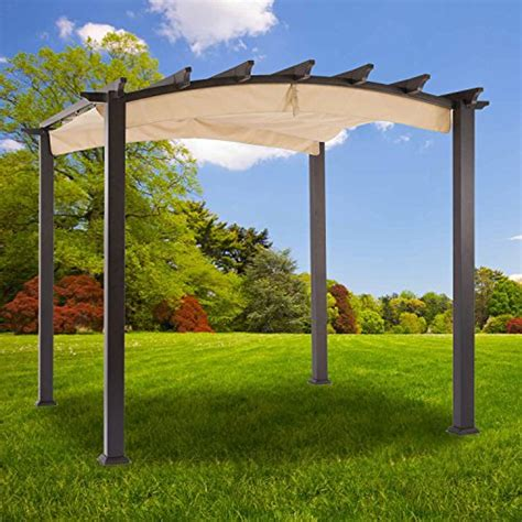 garden winds replacement canopy  arched pergola riplock