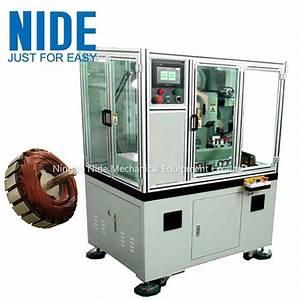 China Full Automatic Servo Double Cutter Rotor Commutator