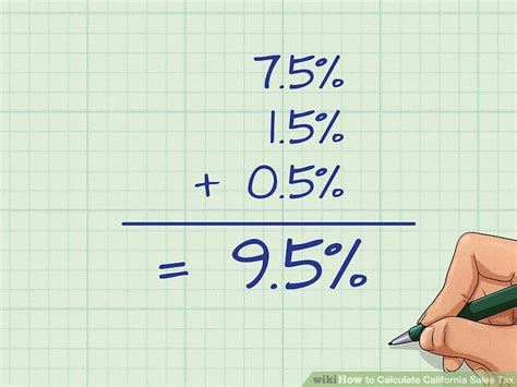 How To Calculate California Sales Tax 11 Steps (with