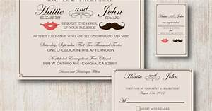 mustache lips invitations wedding pinterest With wedding invitation printing prices
