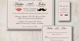 Mustache lips invitations wedding pinterest for Wedding invitation printing prices