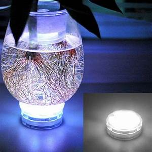 Led, White, Color, Submersible, Wedding, Party, Vase, Fairy, Light, Remote, Control, New