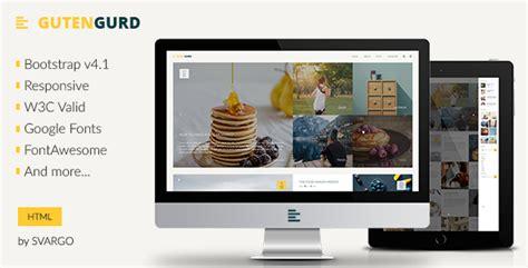 Templates Entertainment Blog gutengurd travel and entertainment blog html template