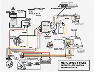 Mercury 50 Hp Thunderbolt Ignition Wiring Diagram