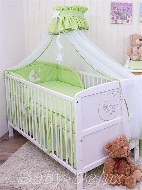 baby himmel bettset baby bettw 228 sche moskitonetz himmel 2in1 bettset mit applikation 100x135cm ebay