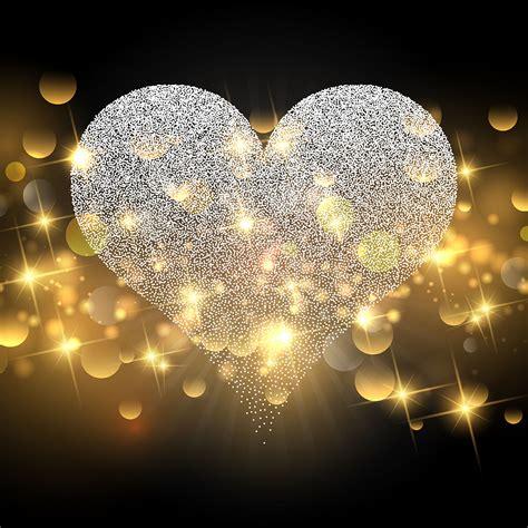 sparkle heart design  valentines day