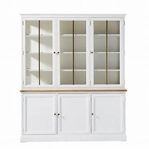 Buffet Blanc Maison Du Monde : buffet meuble blanc ~ Teatrodelosmanantiales.com Idées de Décoration