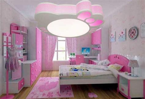 plafonnier chambre fille installation avec idee papier