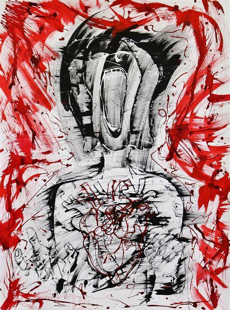 symbolizing mental illness  imagery  raw emotion