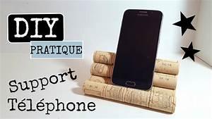 Support De Telephone : diy support de t l phone portable youtube ~ Melissatoandfro.com Idées de Décoration