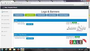 ebay dynamic listing template wizard youtube With free ebay selling template