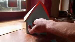 Weihnachtsbäume Aus Papier Basteln : haus aus papier falten basteln youtube ~ Orissabook.com Haus und Dekorationen