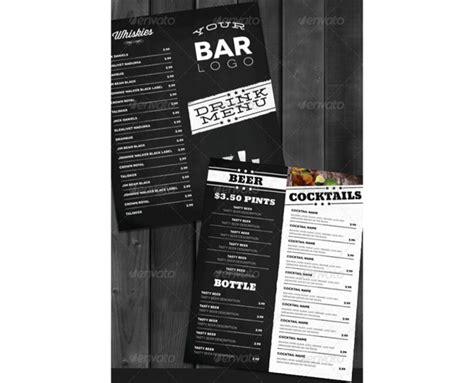 bistro lounge bar getraenkekarte cocktailkarte