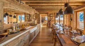 Rideaux Style Chalet : cuisine style montagne ~ Teatrodelosmanantiales.com Idées de Décoration