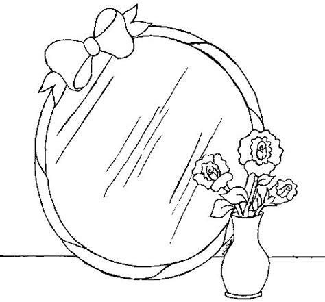 Disegnare Bagno Gratis by Disegno Di Specchio Da Colorare Acolore