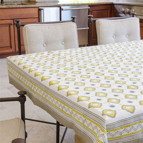 60x60 square tablecloth block print tablecloth 60 quot x 60 quot mosambi window fair 1119