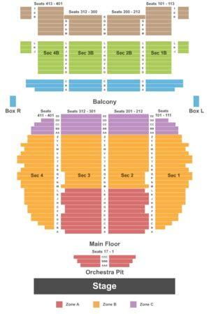 Rialto Square Theatre Tickets In Joliet Illinois, Seating