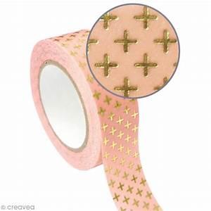 Masking Tape Doré : masking tape m tallis croix dor 1 5 cm x 10 m masking tape m tallis creavea ~ Teatrodelosmanantiales.com Idées de Décoration