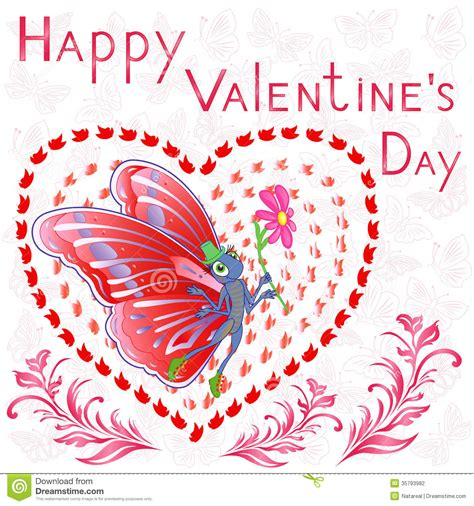 Happy Valentine Day stock vector. Illustration of idea ...
