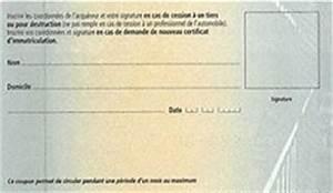 Carte Grise Non Faite Par Le Vendeur : coupon d tachable de la carte grise quoi cela sert ~ Gottalentnigeria.com Avis de Voitures
