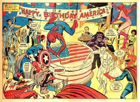 marvel flipside happy birthday america