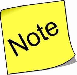 G Cliff Note Clipart