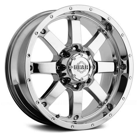 gear alloy 174 726c big block wheels chrome rims