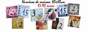 Numéro De Maison Design : plaques de maison num ro de rue fresques murales ~ Dailycaller-alerts.com Idées de Décoration