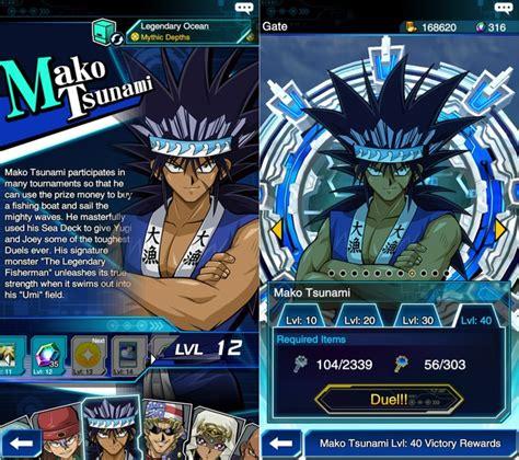 mako tsunami starter deck como desbloquear todos os duelistas em yu gi oh duel