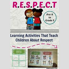 Learning Activities That Teach Children About Respect  Kiddie Matters