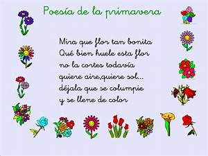 Poemas para compartir el día de la Primavera Imágenes para Imprimir