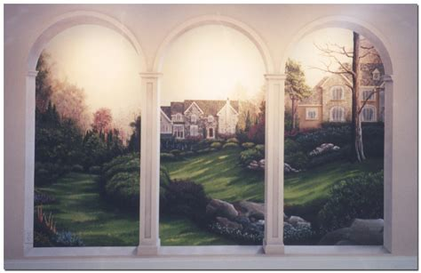 murals custom painted wall murals by effects