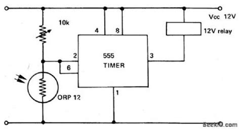 Optical Schmitt Trigger Digital Circuit Basic