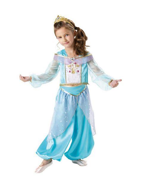 Child Licensed Disney Princess Jasmine Sparkle Fancy Dress ...