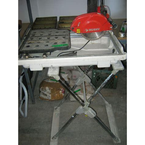 husky tile saw husky electric tile saw with stand