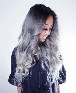 Haarfarbe Schwarz Grau : haare grau f rben hier finden sie alles was sie dar ber wissen m ssen ~ Frokenaadalensverden.com Haus und Dekorationen