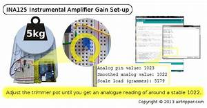 Arduino Load Cell Gain Set