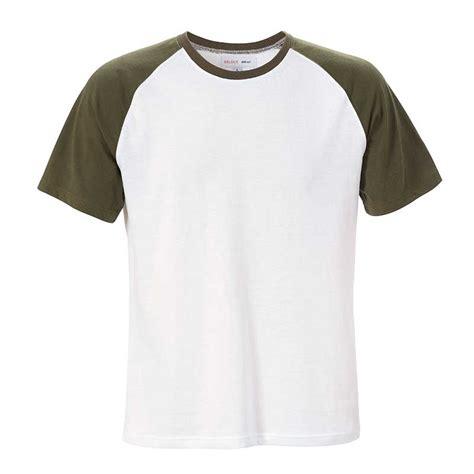 Vīriešu T-krekls balts/haki - Select