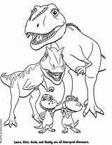 Coloring Dinosaur Printable Pages Popular sketch template