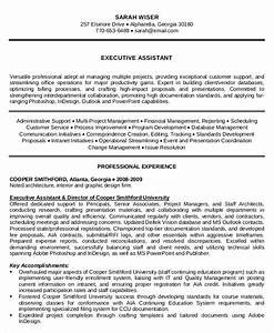 10 executive administrative assistant resume templates for Administrative assistant resume pdf