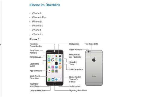 iphone 7 bedienungsanleitung iphone 6 bedienungsanleitung freeware de