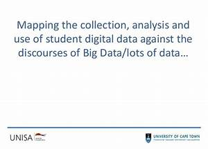 Critical issues in the collection, analysis and use of ...