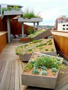 Balkon Gestaltungsideen Pflanzen : dachterrasse gestalten ihre gr ne oase im au enbereich ~ Lizthompson.info Haus und Dekorationen