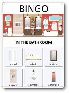 Mobilier En Anglais : loto des meubles objets et pi ces de la maison loto du mobilier de la maison en anglais ~ Melissatoandfro.com Idées de Décoration