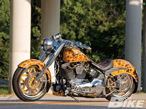 Stylization, Harley Davidson Fat Boy, Tuning