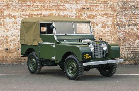 Land Rover Series 1 Models To Be Restored And Sold