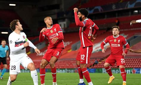 Liverpool 2-0 Midtjylland Match Report   Champions League ...