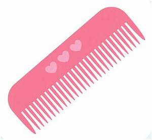 Brush clipart comb - Pencil and in color brush clipart comb