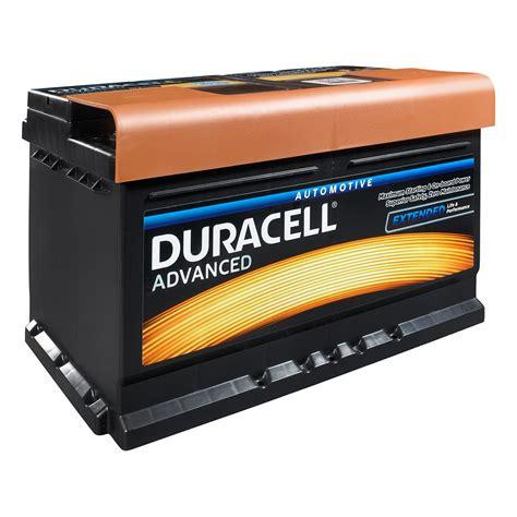 Batterie Car by Duracell 110 Da80 Advanced Car Battery Www